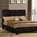 ETHAN HOME Tuscany Villa Full-Sized Espresso Upholstered Bed
