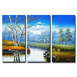 'Country Creek' Canvas Art