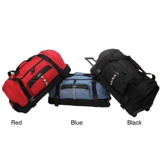 Olympia 30-inch Drop-bottom Rolling Upright Duffel Bag