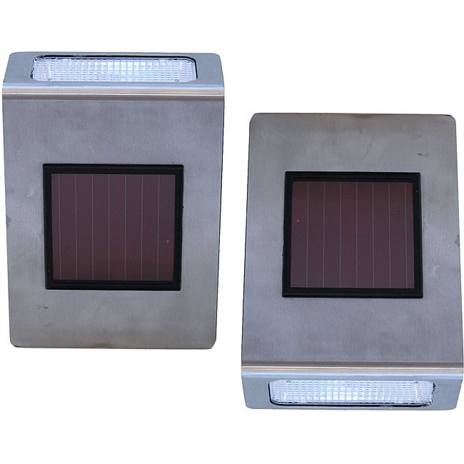 Tricod Wall-mounted Solar Lights (Pack of 2)