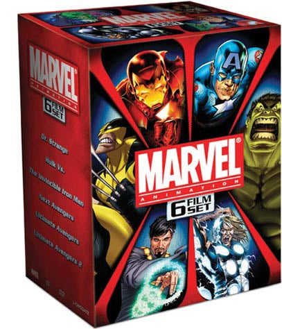 Marvel Animation 6 Film Set (DVD)