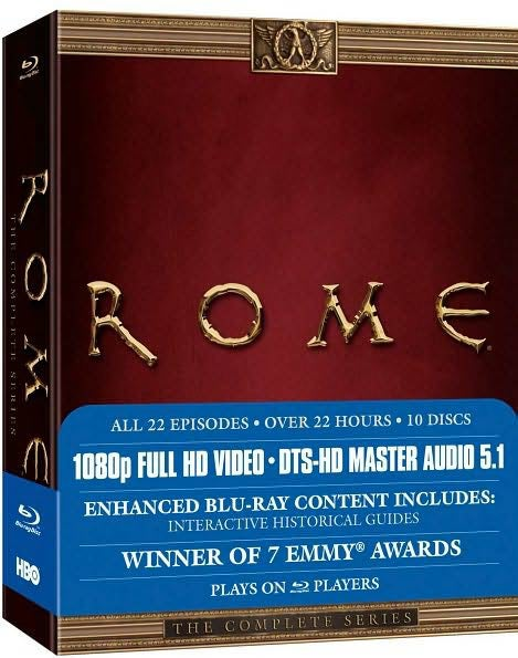 Rome: The Complete Series (Blu-ray Disc)
