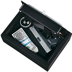 Stack-On Electronic Lock Extra-wide Strong Box Safe