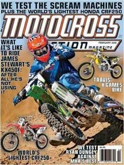 Motocross Action, 12 issues for 1 year(s)