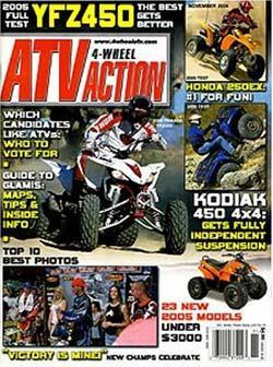 4 Wheel ATV Action, 12 issues for 1 year(s)