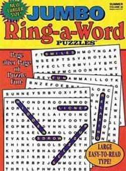 JUMBO Ring-A-Word Puzzles, 6 issues for 1 year(s)
