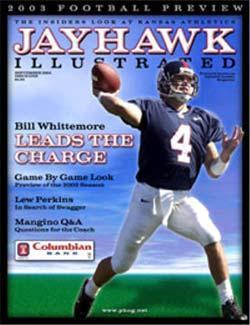 Jayhawk Illustrated, 10 issues for 1 year(s)