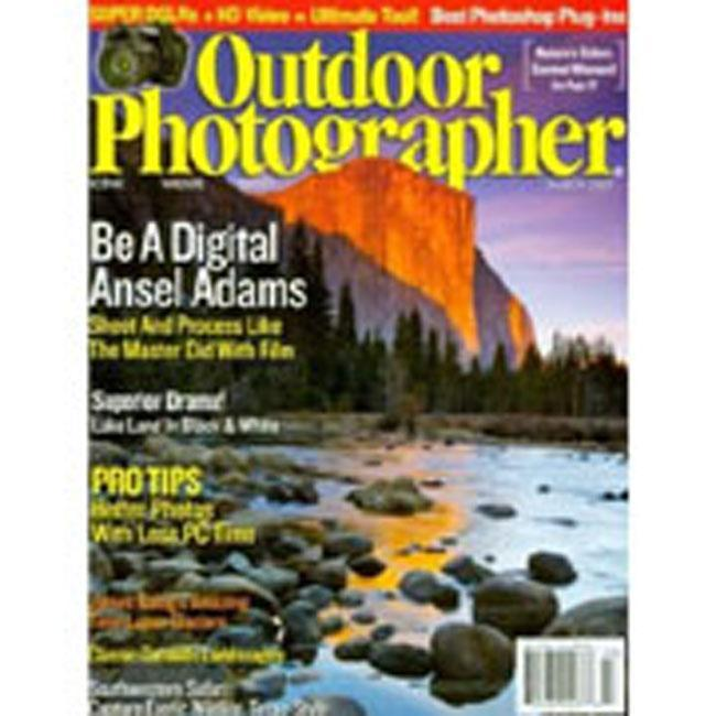 Outdoor Photographer, 10 issues for 1 year(s)