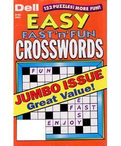 Easy Fast N Fun Crosswords, 6 issues for 1 year(s)