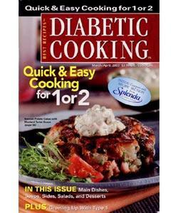 Diabetic Cooking, 6 issues for 1 year(s)