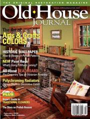 Old House Journal, 6 issues for 1 year(s)