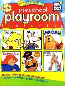 Playroom, 6 issues for 1 year(s)