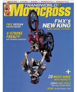 Transworld Motocross, 12 issues for 1 year(s)