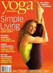 Yoga Journal, 9 issues for 1 year(s)