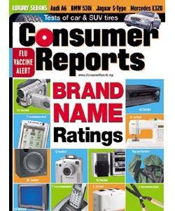 Consumer Reports, 13 issues for 1 year(s)