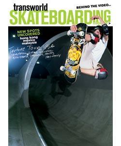 TransWorld Skateboarding, 12 issues for 1 year(s)