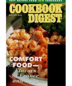 Cookbook Digest, 6 issues for 1 year(s)