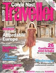 Conde Nast Traveler, 12 issues for 1 year(s)