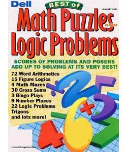 Dell Math Puzzles & Logic Problems, 6 issues for 1 year(s)