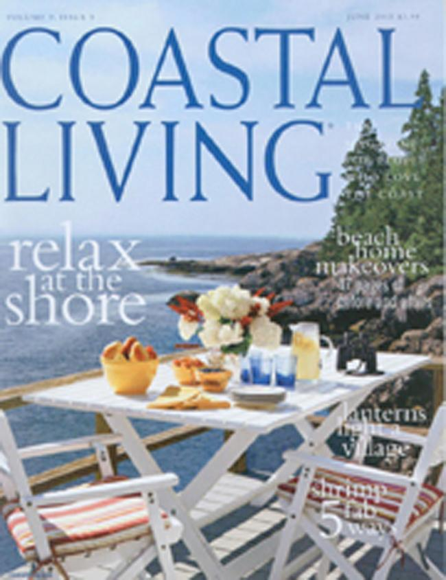 Coastal Living, 10 issues for 1 year(s)