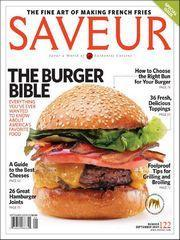 Saveur, 9 issues for 1 year(s)