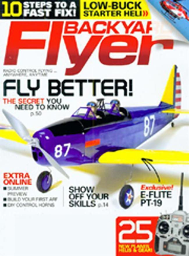 Backyard Flyer, 4 issues for 1 year(s)