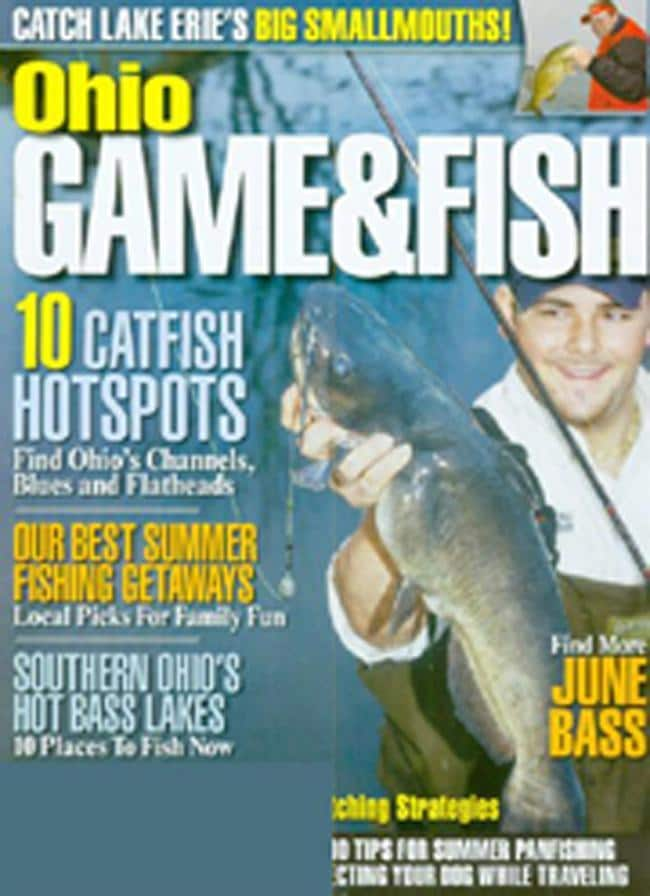 Ohio game fish 12 issues for 1 year s 12222139 for Ohio fish and game