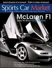 Sports Car Market Magazine, 6 issues for 1 year(s)