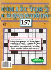 Collector's Crosswords, 12 issues for 1 year(s)