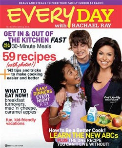 Everyday with Rachael Ray, 10 issues for 1 year(s)