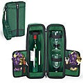 Picnic Time Estate Pine Green/ Nouveau Grapes Deluxe Wine Tote