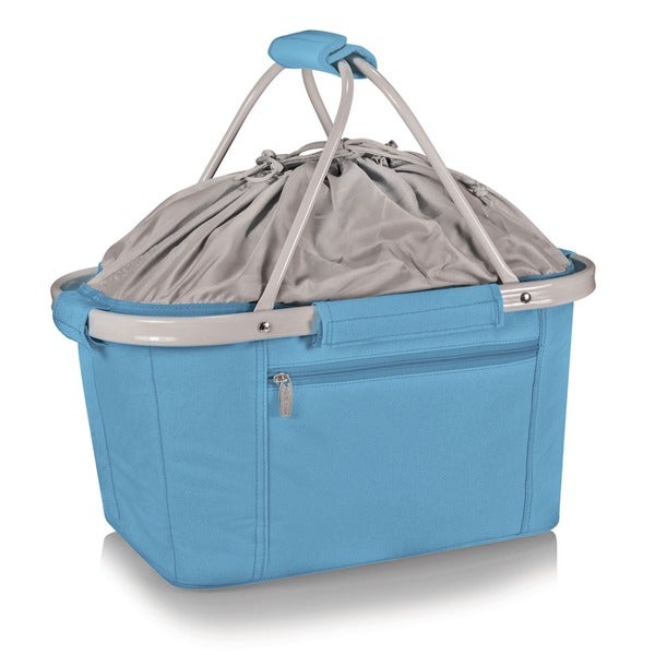 Picnic Time Sky Blue Metro Basket 5723080