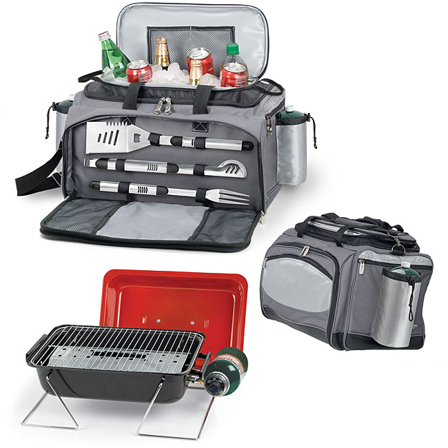 Picnic Time Vulcan Travel Grill with Cooler