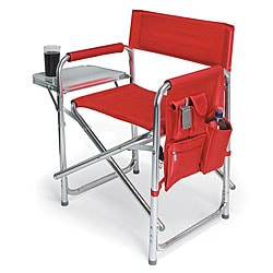Lightweight Picnic Time Portable Extra-wide Red Sports Chair