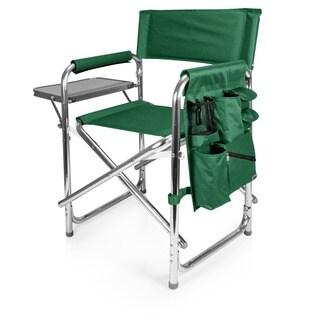 Picnic Time Portable Hunter Green Sports Chair