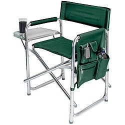 Picnic Time Portable Hunter Green Sports Chair