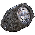 Tricod Solar-powered Faux Stone Spot Light