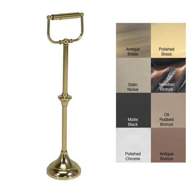 Floor Free Standing Toilet Tissue Holder