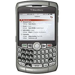 Blackberry 8310 Titanium Unlocked GSM PDA Email Smartphone