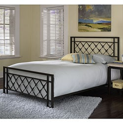 Lattice Queen-size Bed