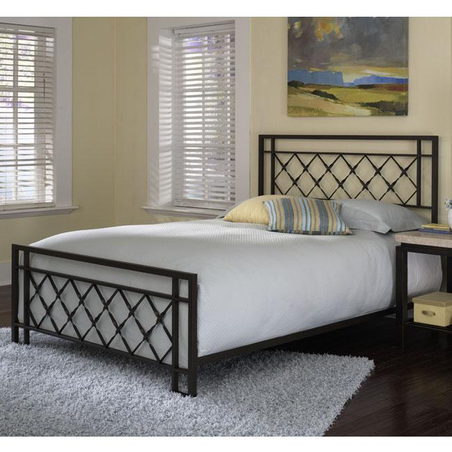 Lattice Full-size Bed