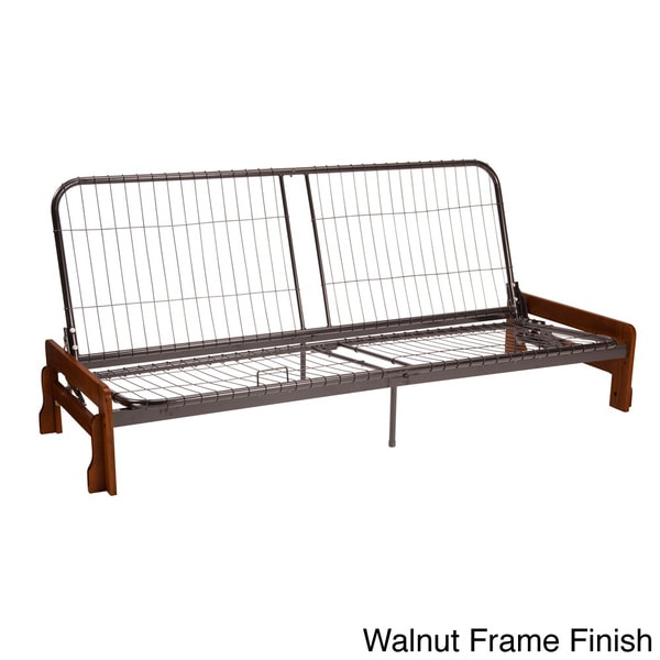 Boston Armless Full Futon Frame Overstock
