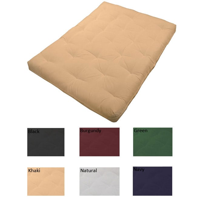 EpicFurnishings Premier Full Cotton/Foam 8-inch Futon Mattress at Sears.com