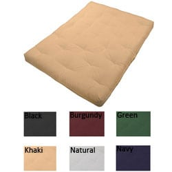 8-inch Loft Full-size Cotton/ Foam Premiere Futon Mattress