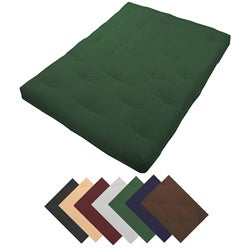 8-inch Loft Queen-size Cotton/ Foam Premiere Futon Mattress