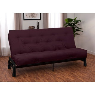 Boston Finish Full Armless Frame/ Premier Futon Set
