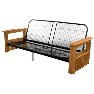 Columbus Full Storage Arm Futon Frame