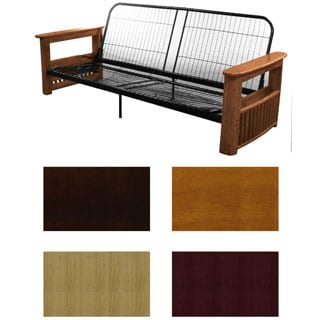 Columbus Queen or Full-size Storage Arm Futon Frame