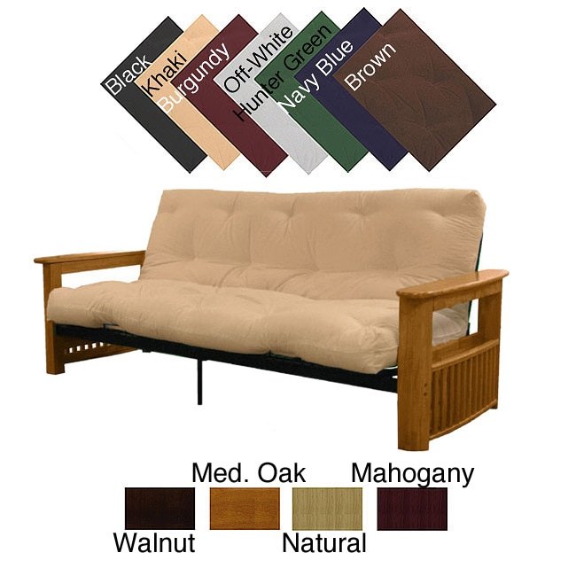 EpicFurnishings Columbus Full-size Frame/ Premier Mattress Futon Set at Sears.com