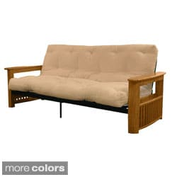 Columbus Full-size Frame/ Premier Mattress Futon Set